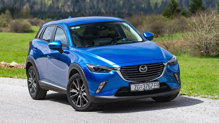 Mazda Cx 3 G150 Awd Revolution Top Ljuta Je Na Cijeli Svijet A To