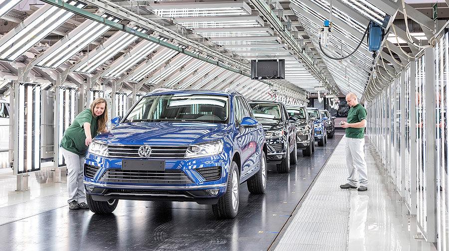 Volkswagen Slovakia Werk Bratislava
